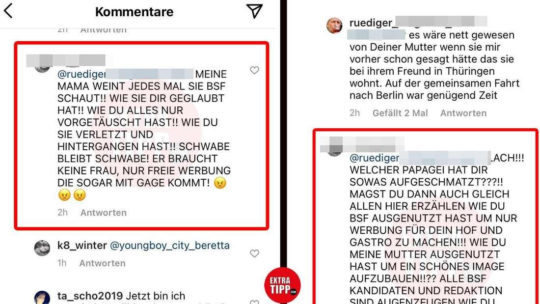 Bauer Rüdiger und Tatjanas Tochter liefern sich eine böse Schlammschlacht im Netz.