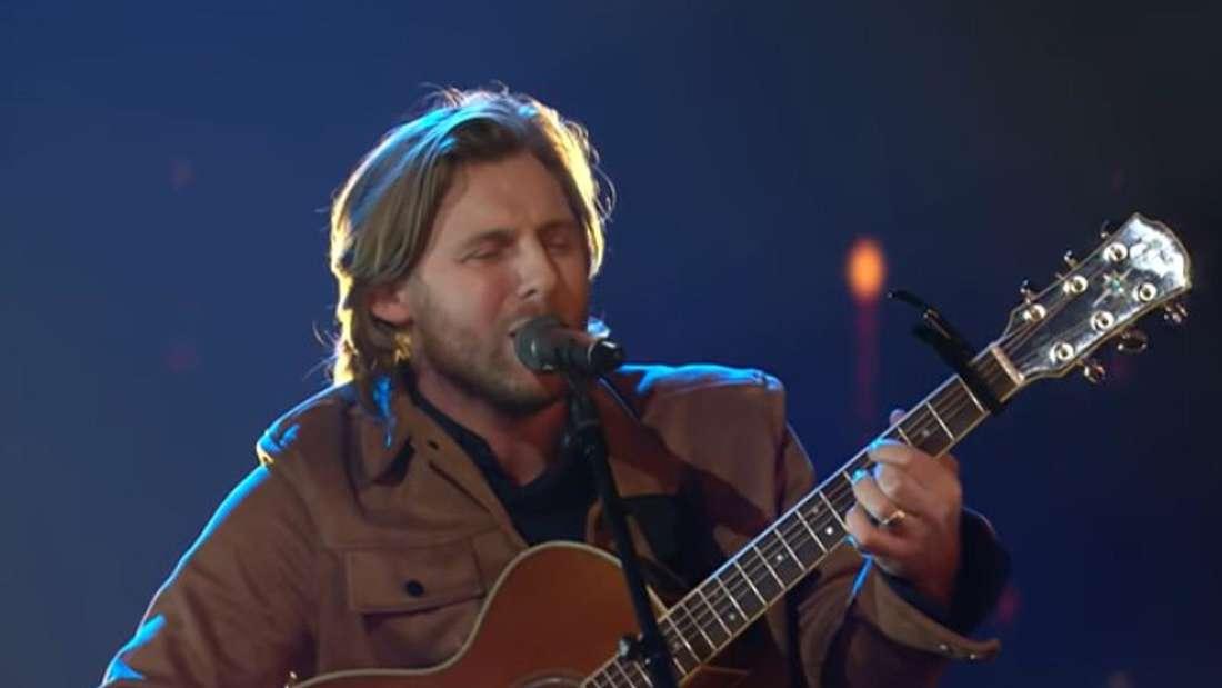 """Nick Ferretti singt in der Final-Show 2020 von """"Das Supertalent"""" auf RTL."""