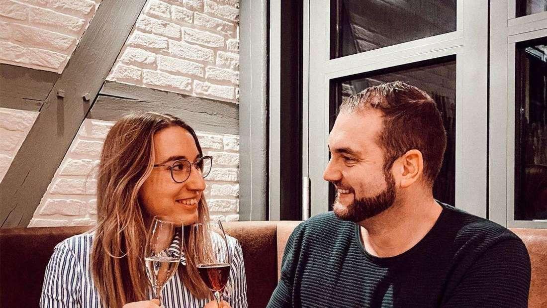 """Melissa und Philipp von """"Hochzeit auf den ersten Blick""""."""