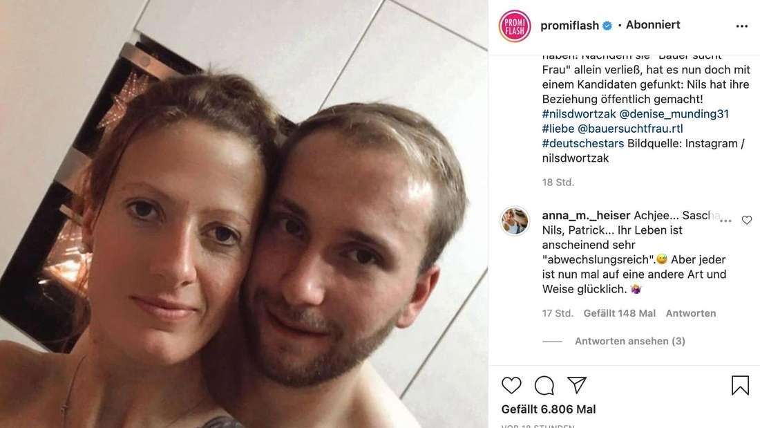 """Anna Heiser stellt Denise von """"Bauer sucht Frau"""" auf Instagram bloß."""
