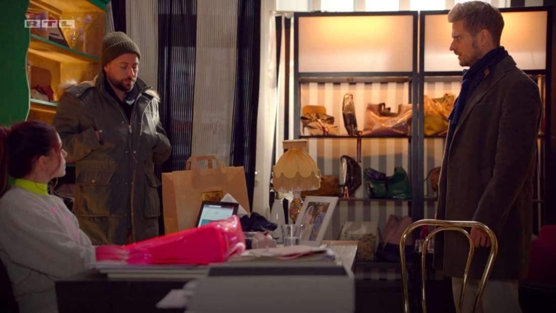 Nachdem Emily Philip und Patricia im Hotel erwischt ist sie stinksauer - das merkt aus John