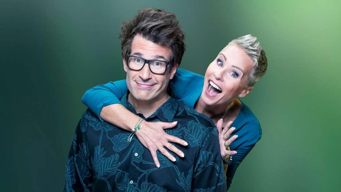 Sonja Zietlow und Daniel Hartwich moderieren die große Dschungelshow ab dem 15. Januar bei RTL.