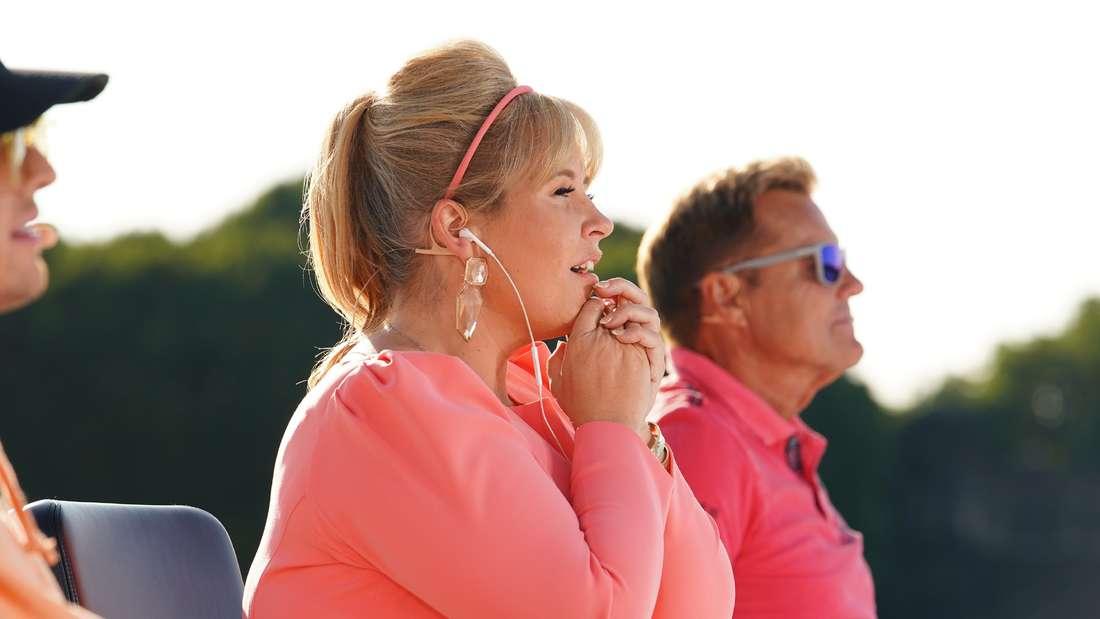 Maike Singer (20), Maite Kelly (41) Dieter Bohlen (66)