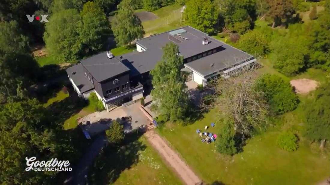 Die Hotelanlage in Schweden von Auswanderin Tanja Kleine