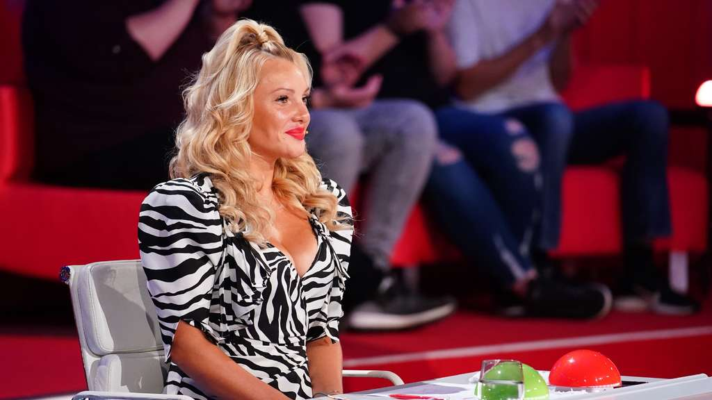 Evelyn Burdecki saß 2020 in der Supertalent-Jury