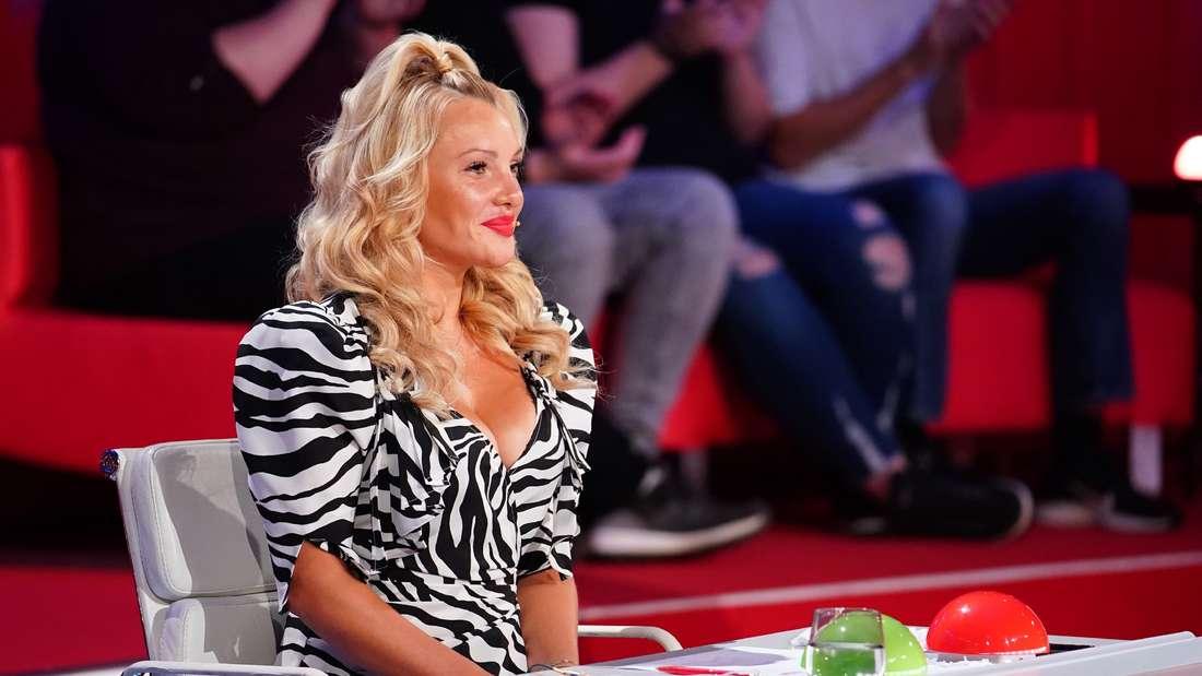 Evelyn Burdecki saß 2020 in der Supertalent-Jury