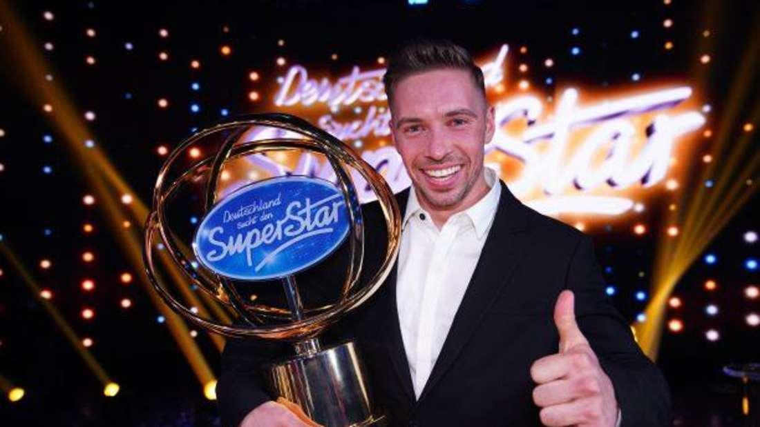 Ramon Roselly, der Gewinner der siebzehnten Staffel von DSDS (RTL).