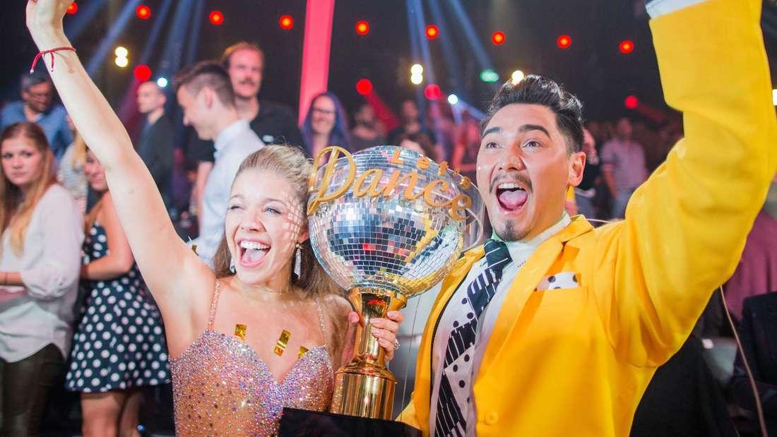 """Victoria Swarovski und Erich Klann haben 2016 """"Let's Dance"""" gewonnen."""