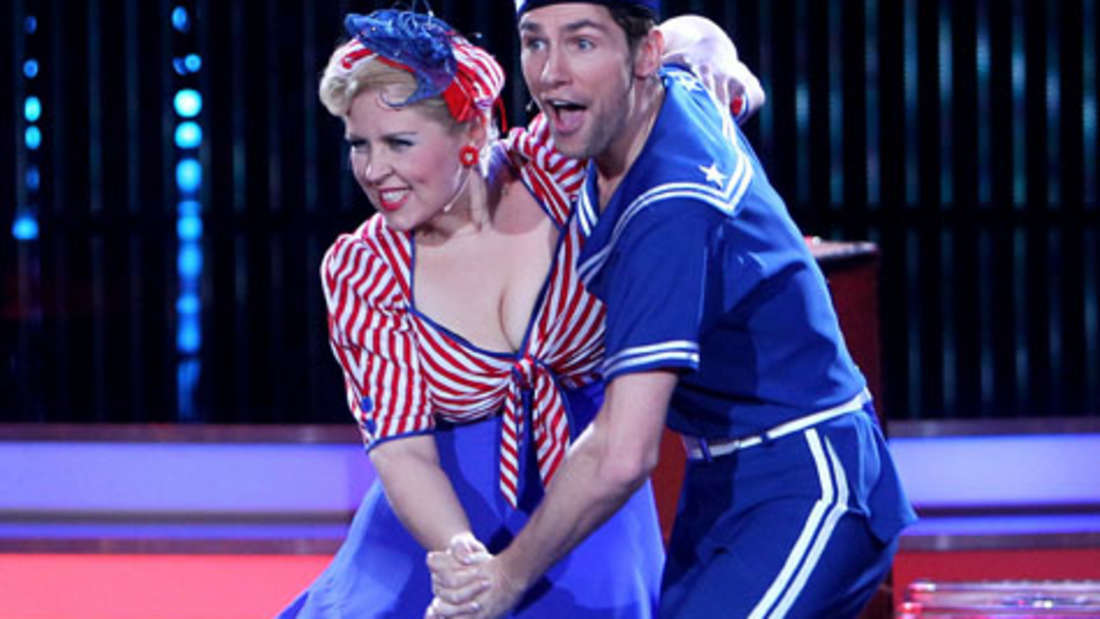 """Schlagersängerin Maite Kelly und Tänzer Christian Polanc gewannen die vierte Staffel von """"Let's Dance""""."""