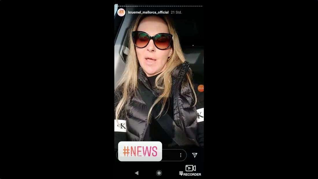 Screenshot aus Marion Pfaffs Instagram-Story