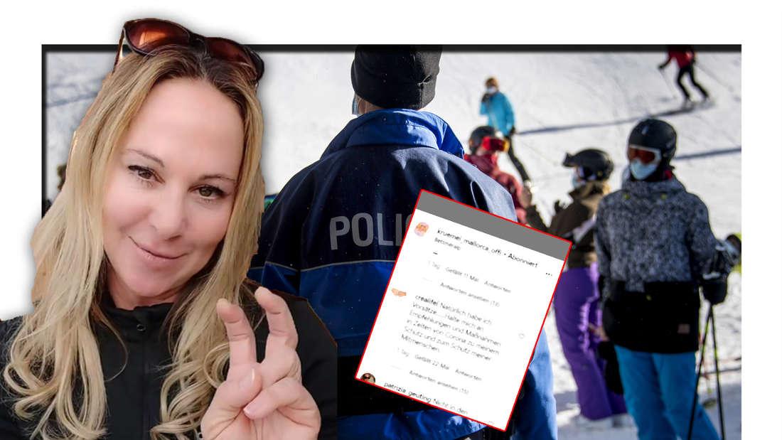 Goodbye Deutschland: Krümel flüchtet in die Schweiz - Fans stinksauer (Fotomontage)