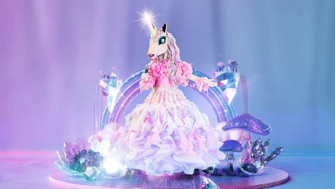 Das Einhorn im Prinzessinnenkleid