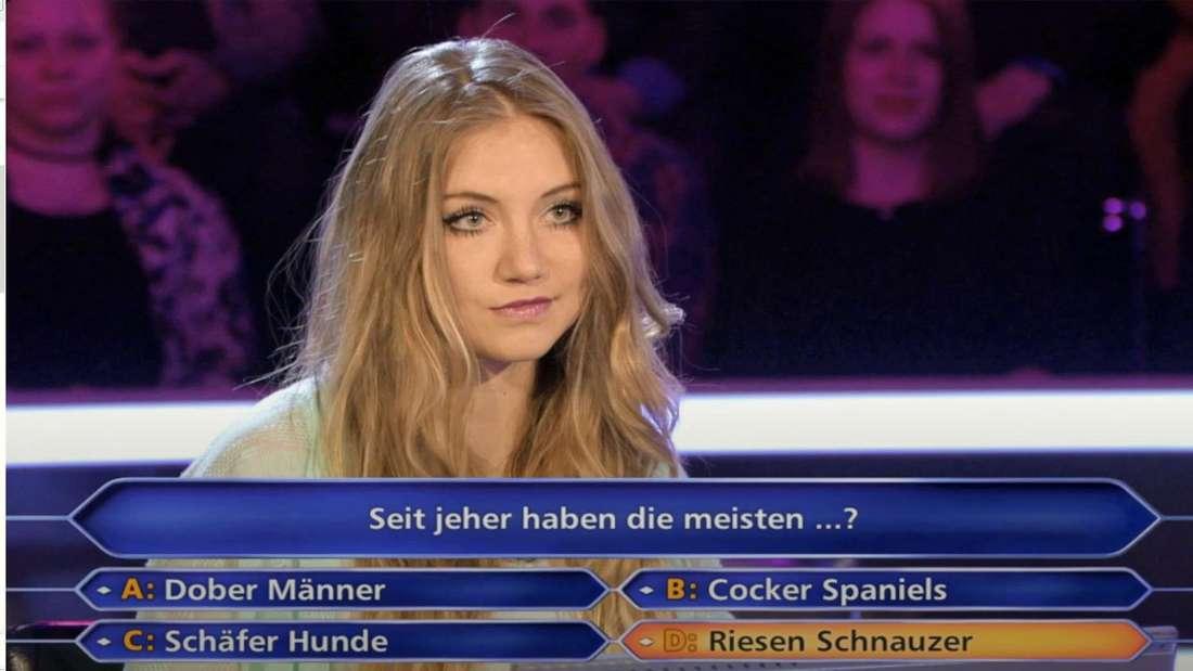 Studentin Tanja Fuß scheiterte bei Günther Jauch an der ersten Frage.