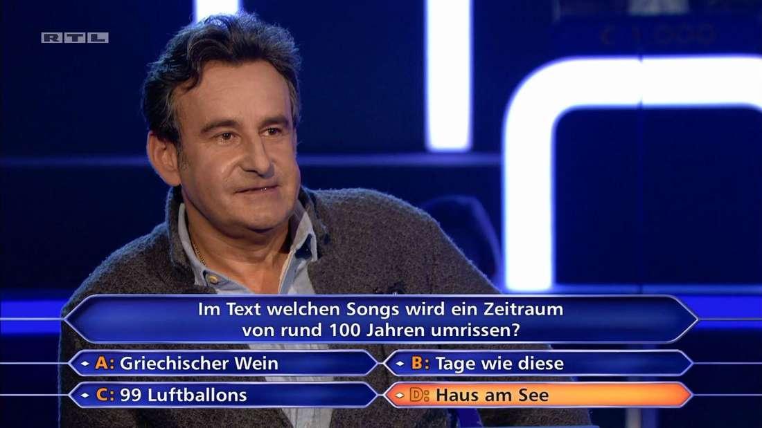 """Dr. Peter Reich scheiterte bei """"Wir wird Millionär"""" an der 16.000-Euro-Frage."""