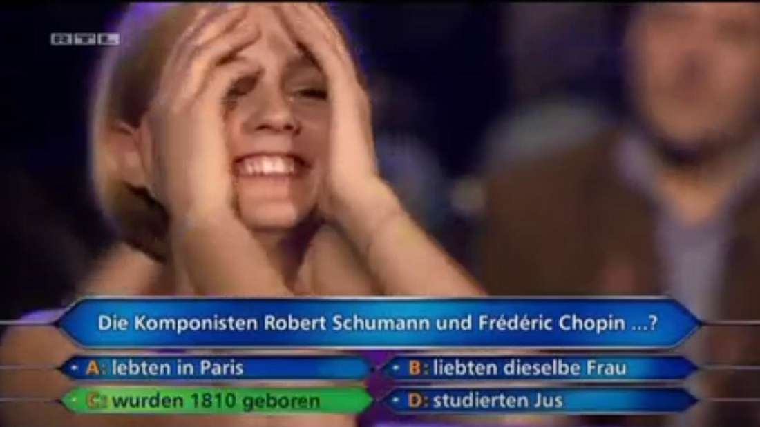 Jauch als Telefonjoker verhalf der Österreicherin zum Erfolg: Die 50.000-Euro-Frage wurde richtig beantwortet.