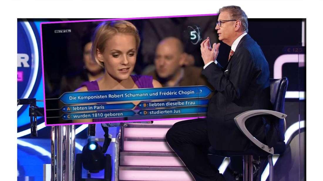 Wer wird Millionär: Kandidatin in Österreich ruft Günther Jauch als Joker an - der hat keine Ahnung.