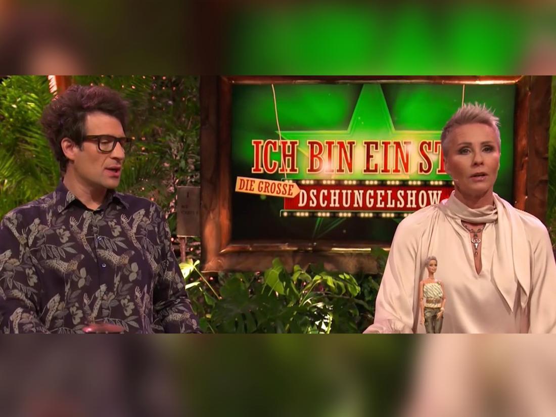 Daniel Hartwich und Sonja Zietlow ziehen Bilanz bei der Dschungelshow 2021.