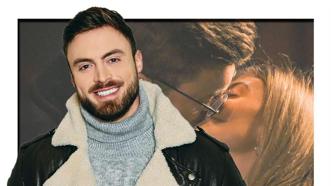 Bachelor Niko Griesert küsst Kandidatin Stephie Stark