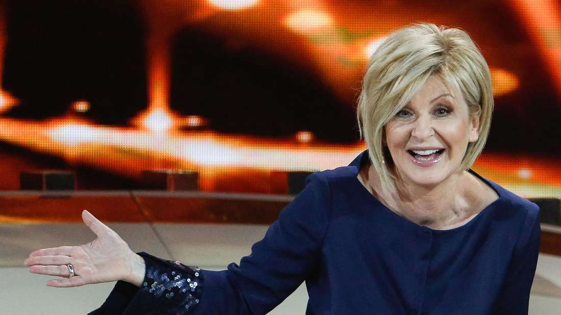 Carmen Nebel in einer TV-Show