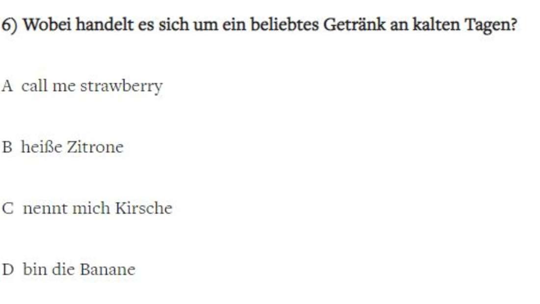 """Die witzigsten Fragen bei """"Wer wird Millionär""""."""
