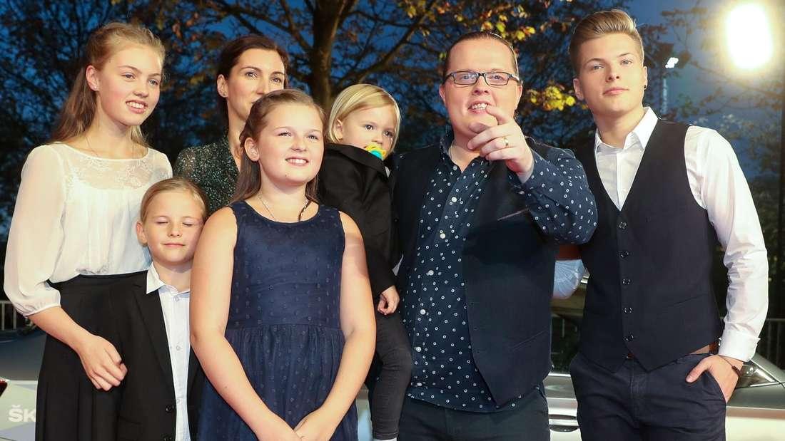 Angelo Kelly mit seiner Familie