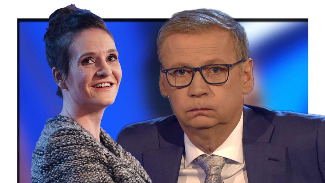 Wer wird Millionär: Kandidatin Julia Demmert und Günther Jauch