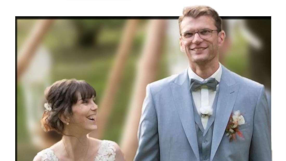 """Annika und Manuel nach ihrer Trauung von """"Hochzeit auf den ersten Blick"""""""