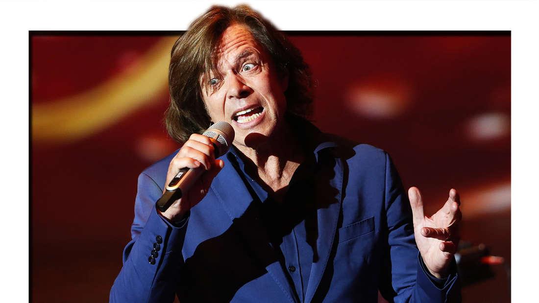 """Jürgen Drews singt am 25.09.2015 im Coloneum in Köln in der RTL-Tanzshow """"Stepping Out"""". (Fotomontage)"""