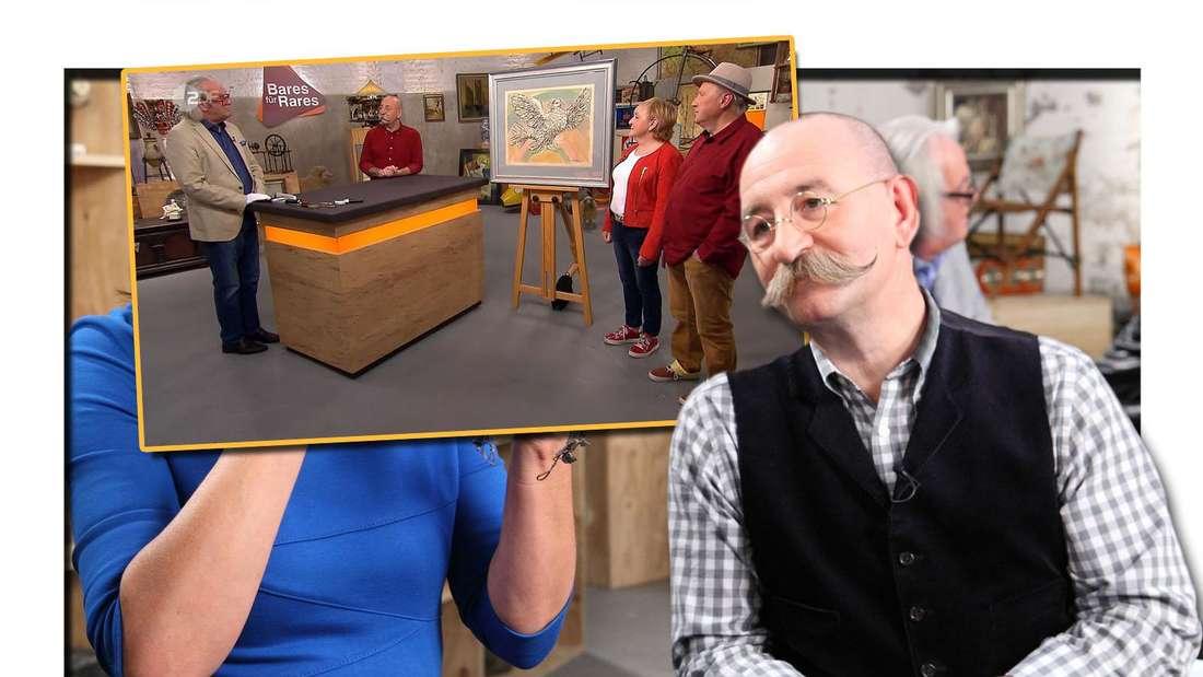 Bares für Rares (ZDF): Ehepaar kauft Bild für 100 Euro und ahnt nicht, wie riesig der echte Wert ist.