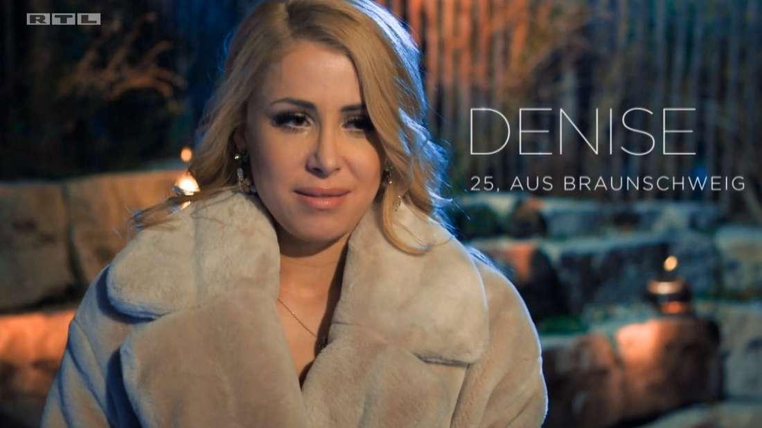 Denise weint