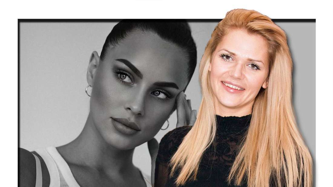 Fotomontage: rechts Sara Kulka, links Kasia Lenhardt