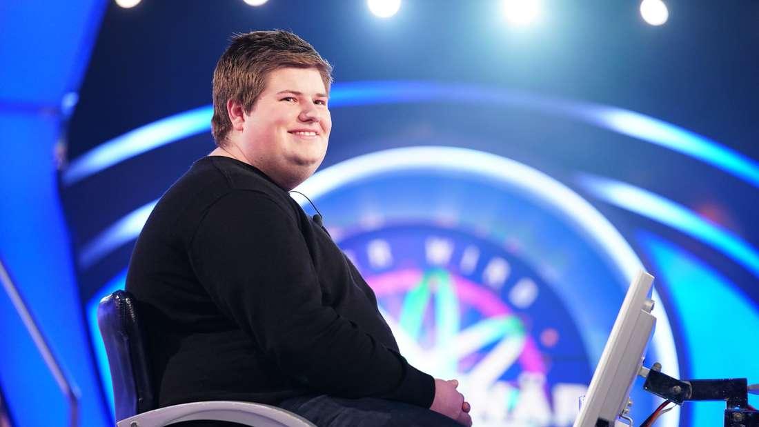 """Johannes Volkmann, der Enkel von Helmut Kohl, war am Montagabend bei """"Wer wird Millionär"""" (RTL) zu sehen."""