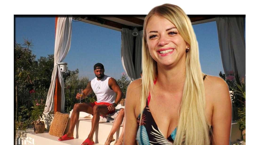 """""""First Dates Hotel""""-Kandidatin Jacqueline am Pool mit Ex Freund Özcan"""