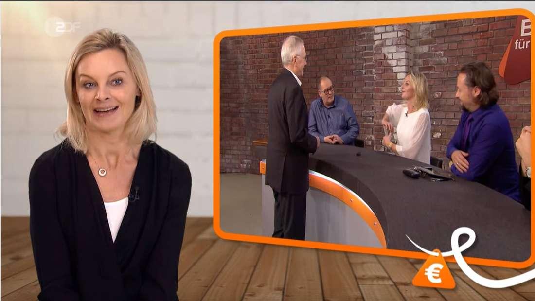"""Hammer bei """"Bares für Rares"""": Susanne Steiger erzählt von einem skurrilen Anruf eines Verkäufers."""