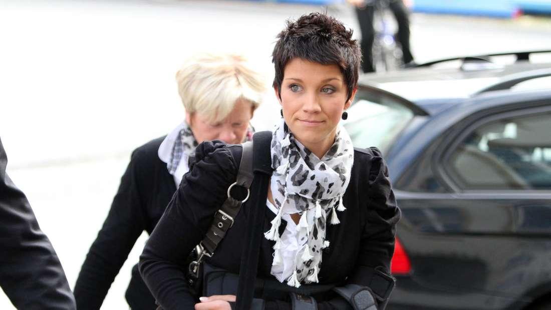 Anna-Maria Zimmermann mit dunklen kurzen Haaren