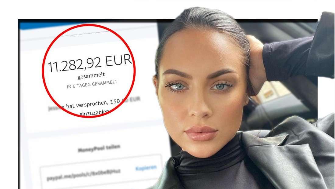 Fans von GNTM-Model Kasia Lenhardt haben ein Spendenkonto eingerichtet. (Fotomontage)