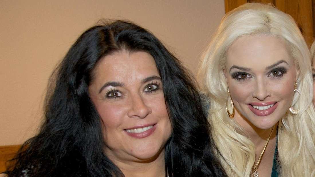 Iris Klein mit ihrer Tochter Daniela Katzenberger