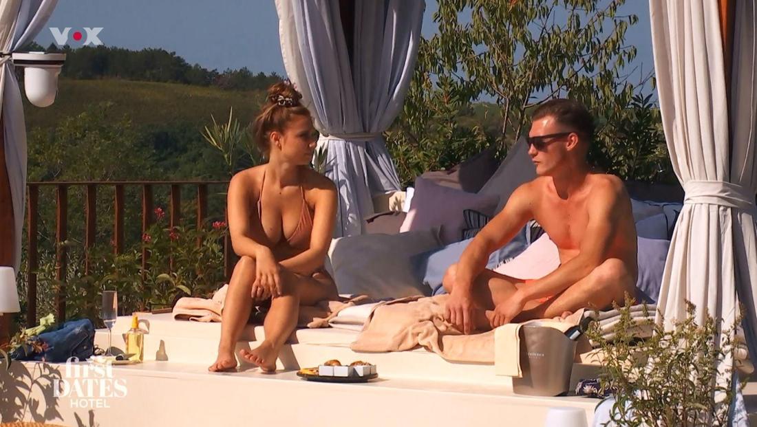 """Lisa Zöller hatte bei """"First Dates Hotel"""" ein Date mit Mario in Kroatien. Doch der Funke sprang nicht über."""