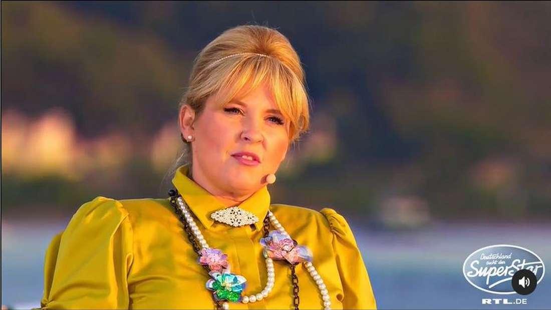 Sängerin Maite Kelly sitzt in der 18. Staffel als DSDS-Jurorin