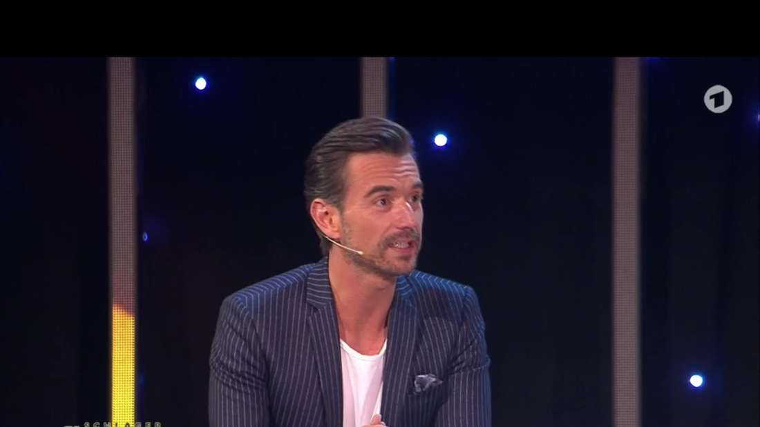 Florian Silbereisen am 27.02.2021 auf der Schlagerchampions-Bühne