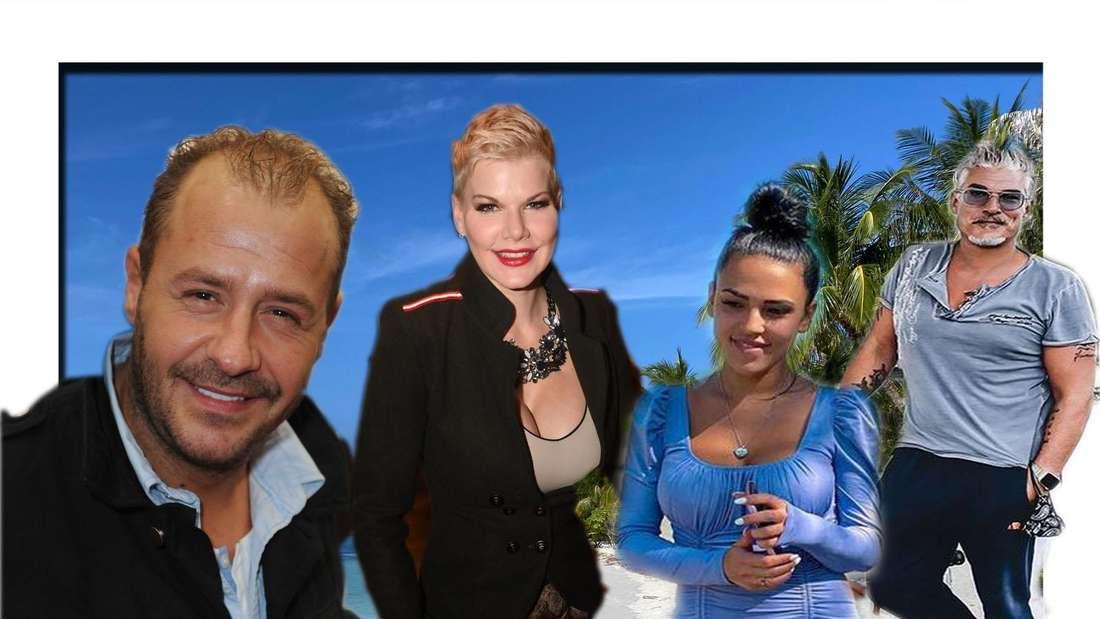 Willi Herren, Melanie Müller, Georgina Fleur, Chris Töpperwien (Fotomontage)