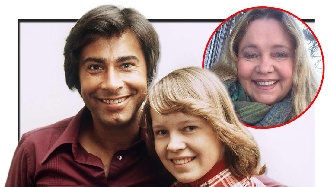 Roy Black mit dem Kinderstar Anita Hegerland am 30.11.1999. Instagram-Bild von Anita Hegerland vom 13. Februar 2021. (Fotomontage)