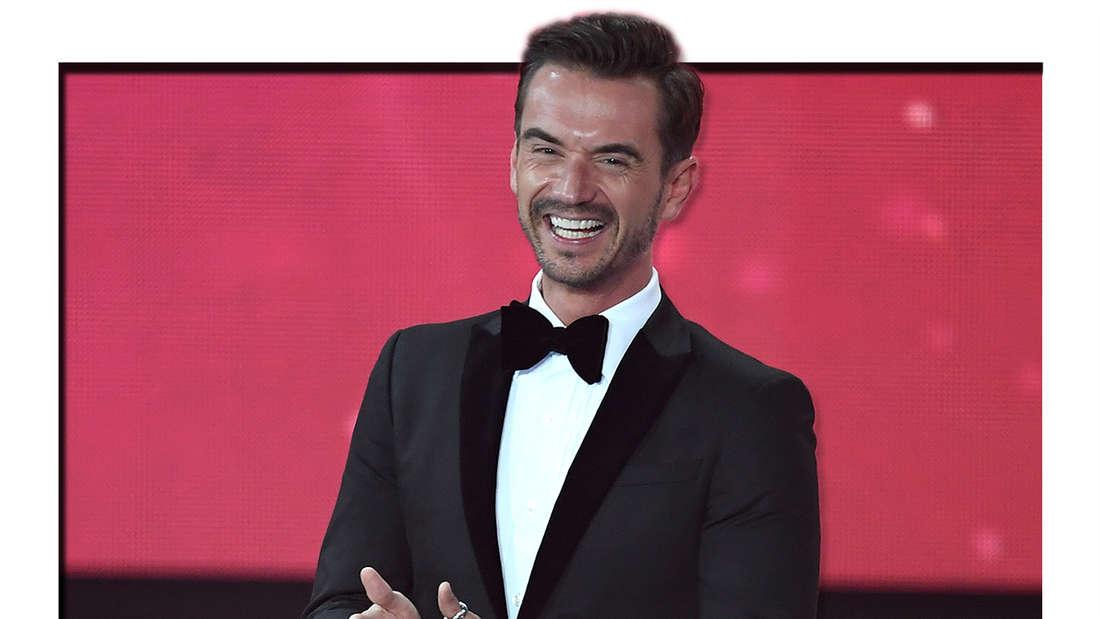 """Florian Silbereisen, aufgenommen bei der 23. Verleihung des Medienpreises """"Goldene Henne"""" am 13.10.2017. (Fotomontage)"""