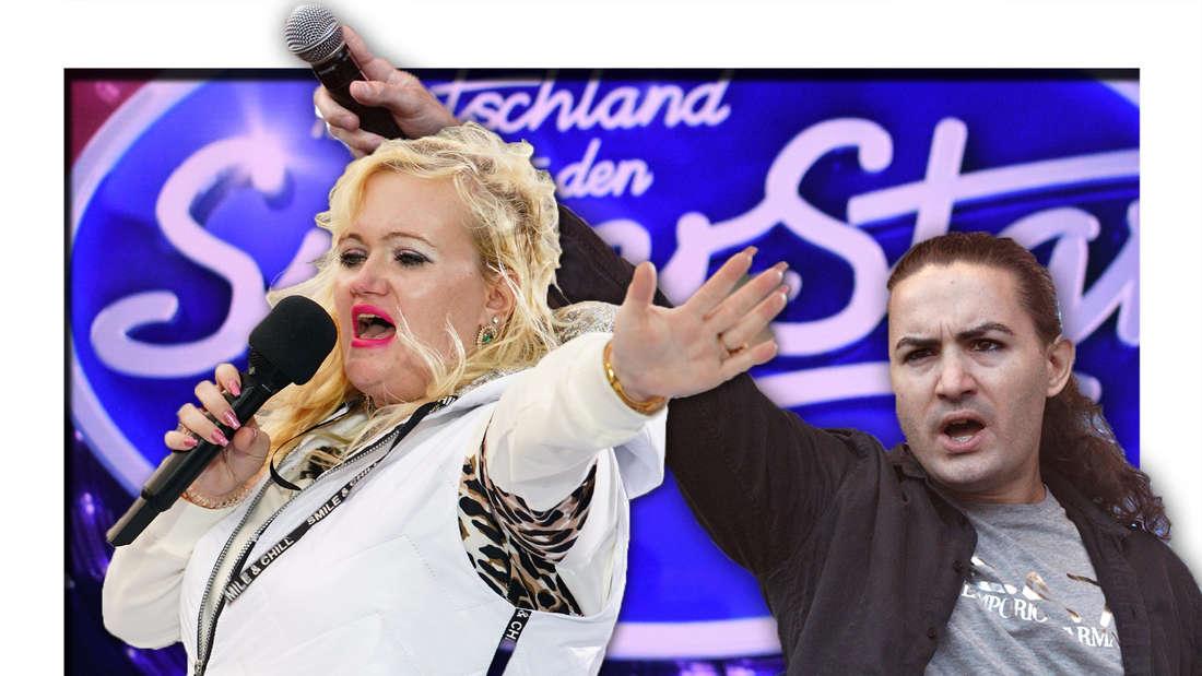 Claudia Haas singt, Menderes singt (Fotomontage)