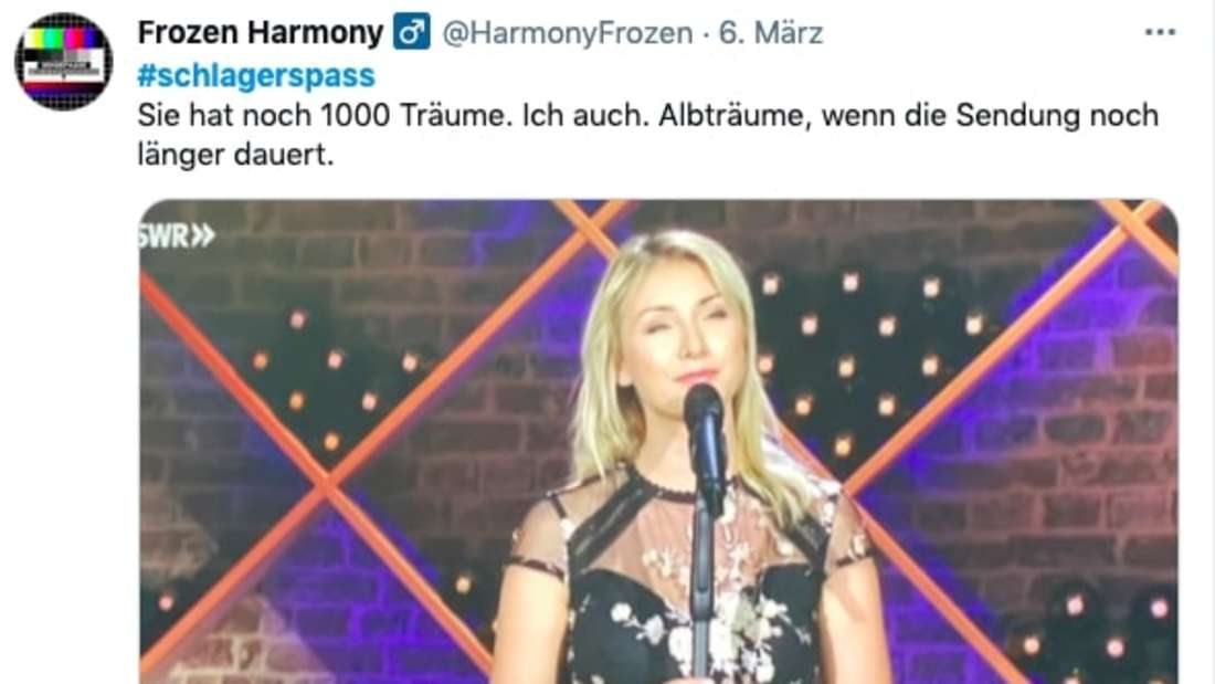 """Harsche Kritik für Anna-Carina Woitschack Auftritt bei """"Schlager-Spaß mit Andy Borg"""""""