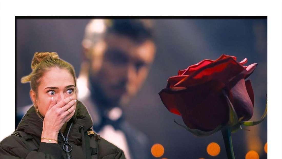 Fotomontage: Bachelor Niko Griesert und Kandidatin Mimi Gwozdz