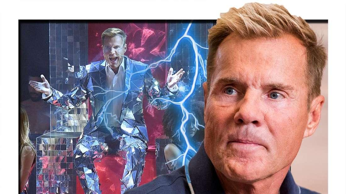 Kommt Dieter Bohlen trotz seinem DSDS-Rausschmiss zu den Liveshows? (Fotomontage)