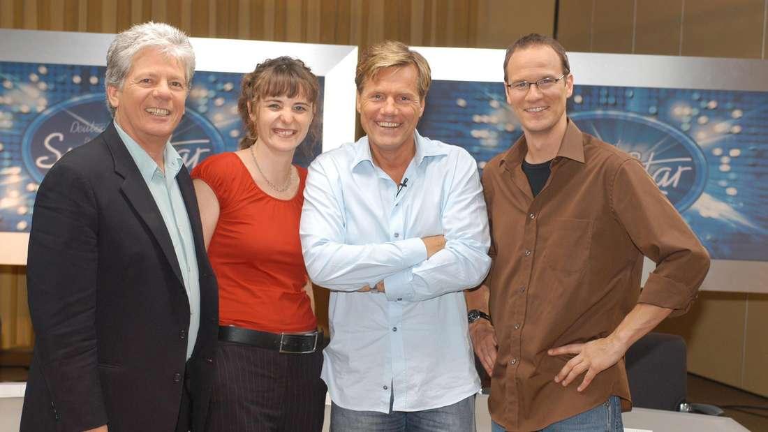 Thomas Stein, Shona Fraser, Dieter Bohlen und Thomas Bug (v.li.)