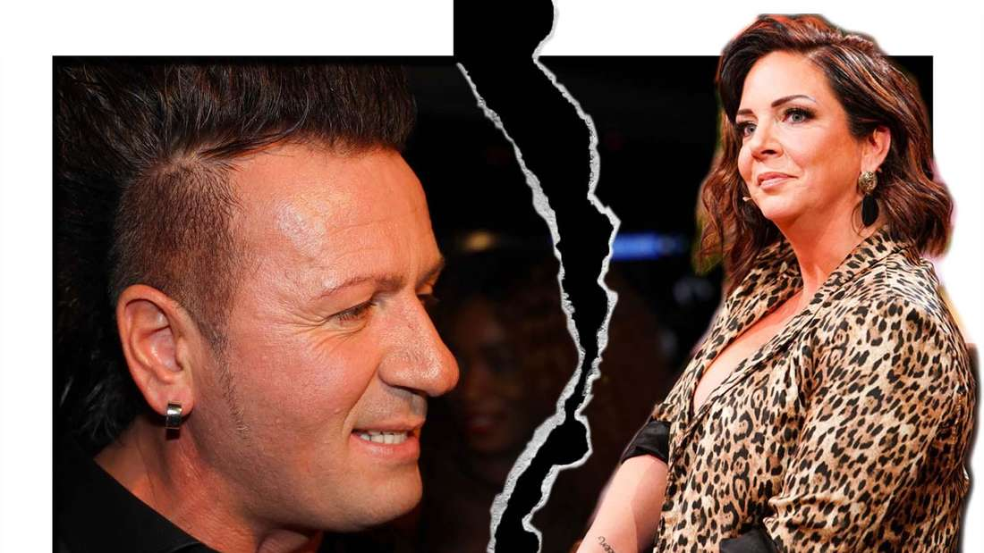 Fotomontage: Ennesto Monté und Danni Büchner haben sich getrennt