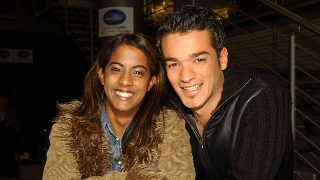 Daniel Lopes mit Judith Lefeber im Januar 2003.